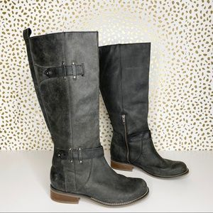 Corral black leather boots